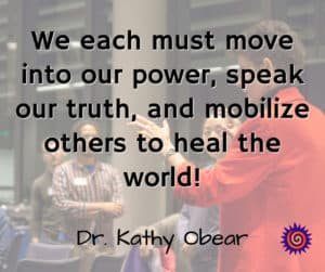 speak truth and make change in the world